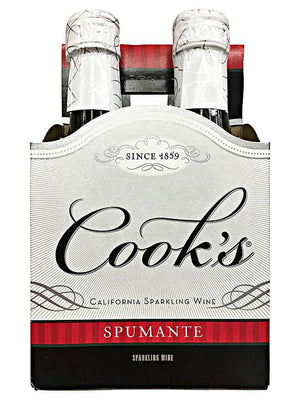 Cooks Spumante 187ml 4 Pack