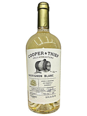 Cooper and Thief Cellarmasters Tequila Barrel Aged Sauvignon Blanc