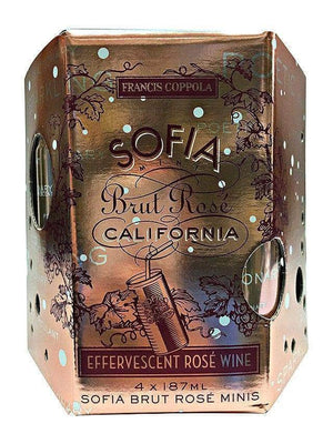 Francis Ford Coppola Sofia Brut Rosé Can 4 Pack