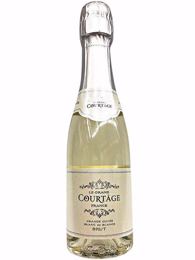 Le grand courtage grande cuvee blanc de blancs brut 187ml for Belle jardin blanc de blancs