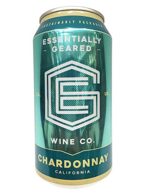 Essentially Geared Chardonnay Wine Can