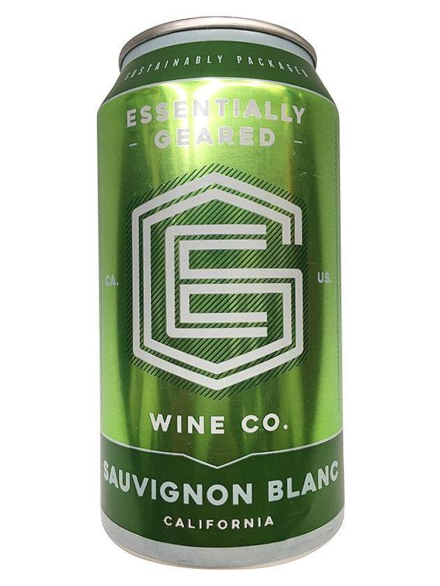 Essentially Geared Sauvignon Blanc Wine Can