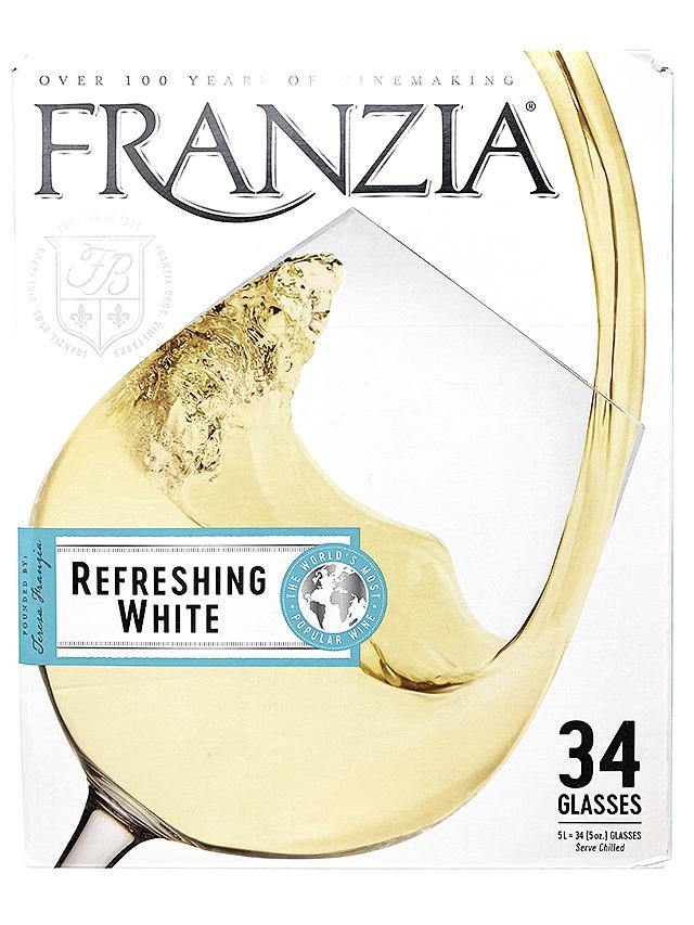 Franzia Refreshing White 5 Liter