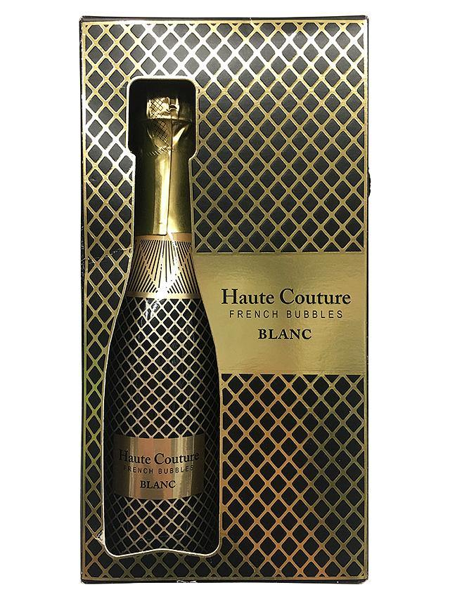 Haute Couture Blanc 2 Pack Sparkling Champagne