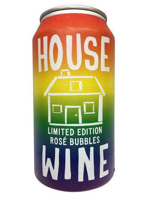 House Wine Rosé Bubbles Can
