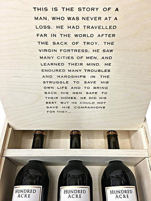 Hundred Acre Kayli Morgan Vineyard Cabernet Sauvignon 2014 Vintage Box