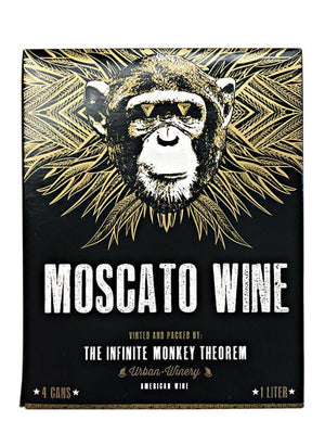 Infinite Monkey Theorem Moscato 4 Pack Can