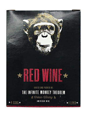 Infinite Monkey Red Wine 4 Pack Cans