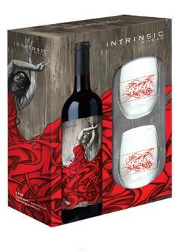 Intrinsic Cabernet Sauvignon Gift Set Comes With Two Glasses