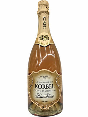 Korbel Cellars California Champagne Brut Rose