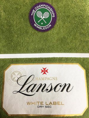 Lanson White Label Sec Bottle Jacket