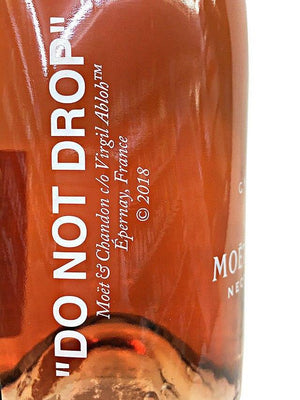 "Moet & Chandon Virgil Abloh ""Do Not Drop"" Rosé Limited Edition - TBWS"