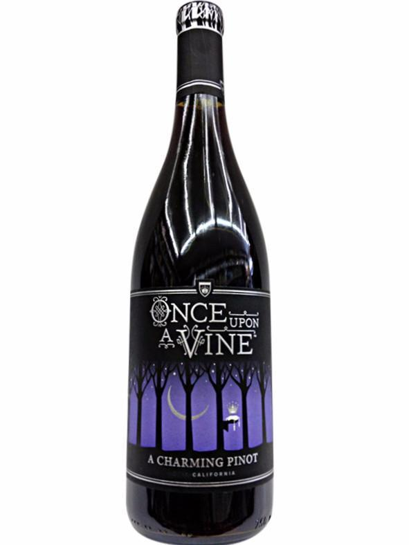 Once Upon A Vine A Charming Pinot