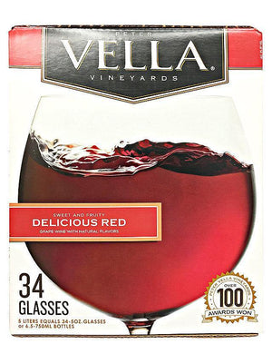 Peter Vella Vineyards Delicious Red