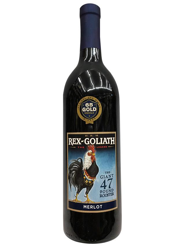 HRM Rex Goliath Giant 47 Pound Rooster Merlot