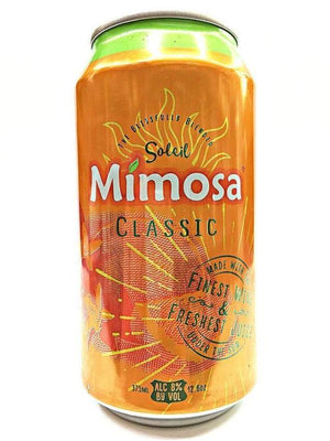 Soleil Mimosa Classic Sparkling 375ml Can