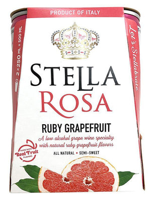 Stella Rosa Ruby Grapefruit Mini 250ml Aluminum Can 2-Pack