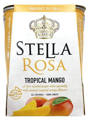 Stella Rosa Can Wine 2-Pack Can Stella Rosa Tropical Mango 250ml Can