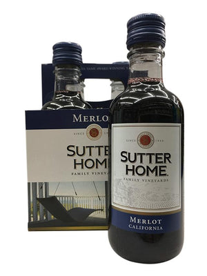 Sutter Home Merlot 4 Pack