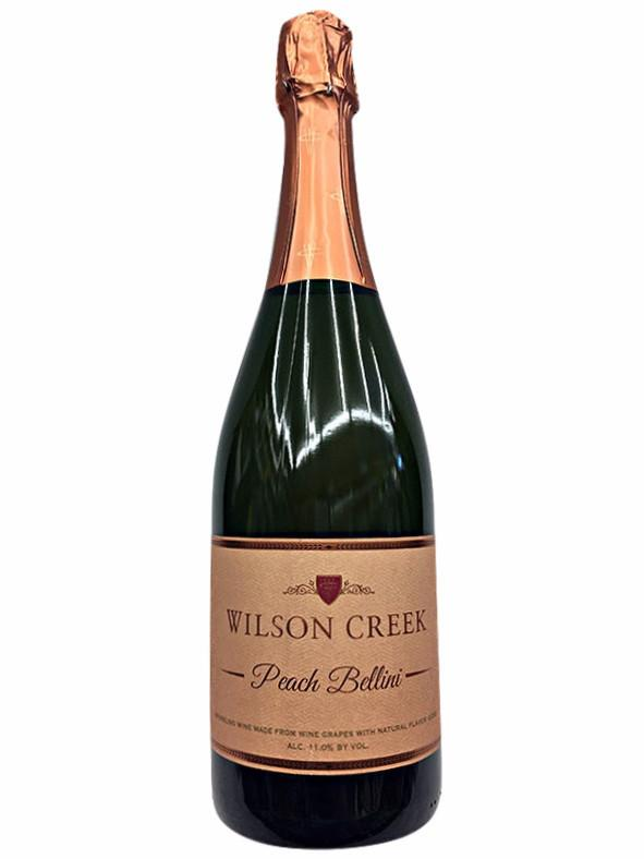 Wilson Creek Peach Bellini