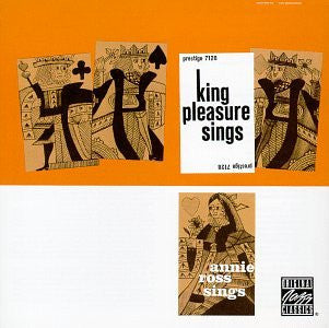 King Pleasure/Annie Ross ‎– King Pleasure Sings,Annie Ross Sings /Japan