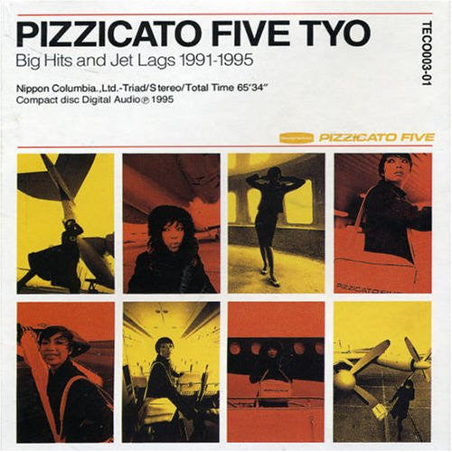 Pizzicato Five ‎– Pizzicato Five Tyo - Big Hits And Jet Lags 1991-1995 /Japan