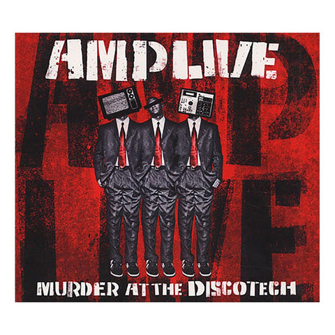 AMP Live ‎– Murder At The Discotech /Taiwan