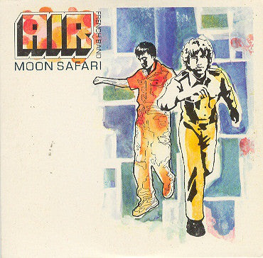 AIR French Band ‎– Moon Safari /E.U.