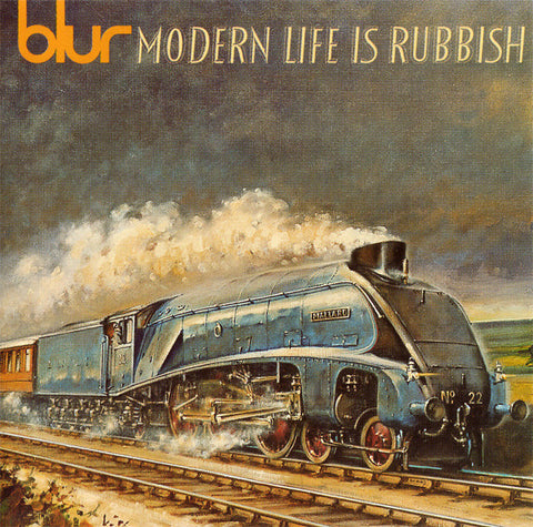 Blur ‎– Modern Life Is Rubbish /Holland