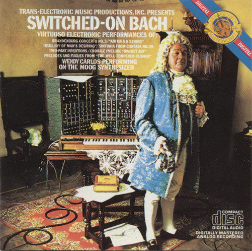 Wendy Carlos ‎– Switched-On Bach /U.S.