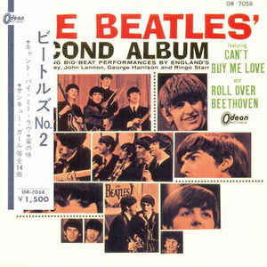 The Beatles ‎– The Beatles' Second Album /Japan (1964/RED)