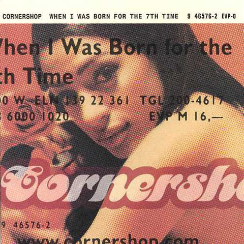Cornershop ‎– When I Was Born For The 7th Time /Taiwan