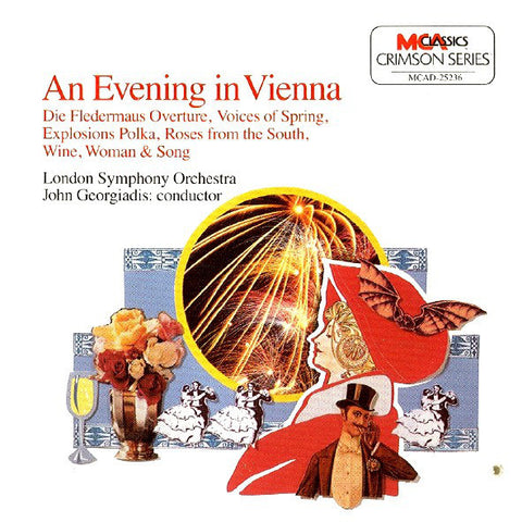 The London Symphony Orchestra - Conductor: John Georgiadis ‎– An Evening In Vienna /U.S.