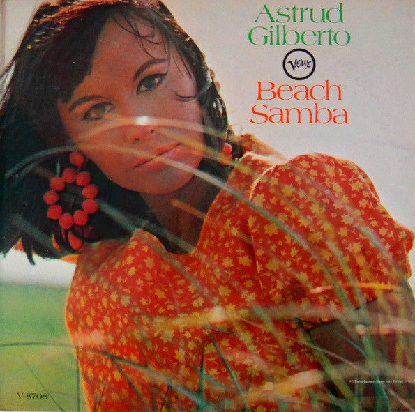 Astrud Gilberto ‎– Beach Samba /Japan