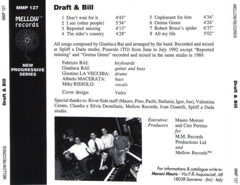 Draft & Bill ‎– Reported Missing /Italy