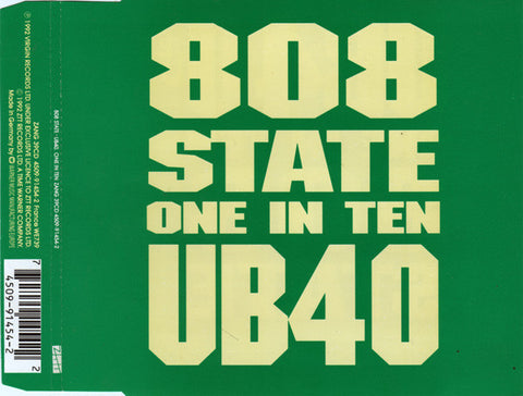 808 State / UB40 ‎– One In Ten (EP) /E.U.