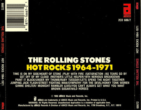 The Rolling Stones ‎– Hot Rocks 1964-1971 (2CD) /U.S.