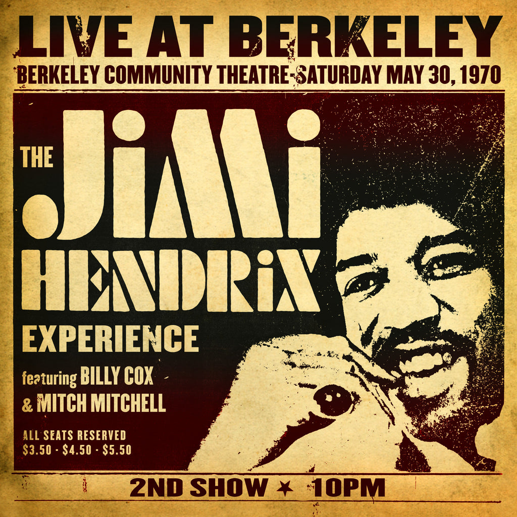 The Jimi Hendrix Experience ‎– Live At Berkeley /E.U.