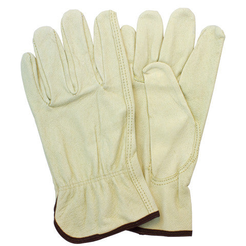 """A/B"" Top Grain Cow Gunn Cut Keystone Thumb Drivers Gloves"