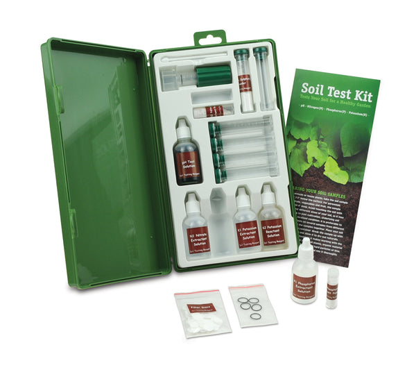 Environmental Concepts Soil Test Kit-80 Tests Included by Luster Leaf - JaniDepot