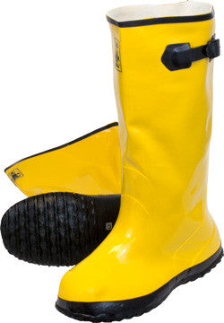 Yellow Latex Slush Boots by The Safety Zone - JaniDepot