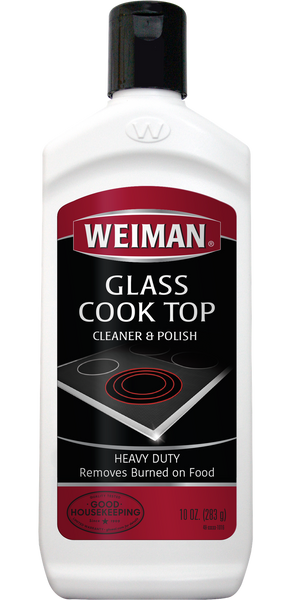 Weiman Cook Top Scrubbing Pads w/Glass Cook Top Cleaner & Polish Bundle-Free Shipping