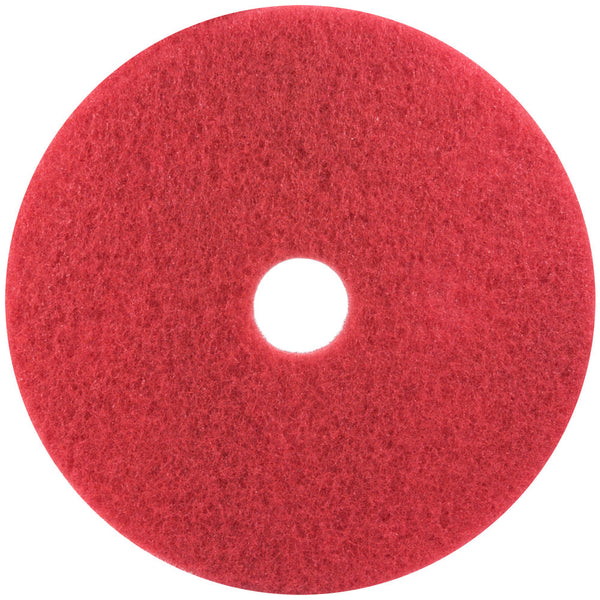 3M Red Buffer Pad 5100 by JaniDepot - JaniDepot