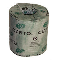 CERTO Household Toilet Tissue - 2 Ply / 500' - (96 Rolls / Case) by Certo - JaniDepot