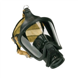 MSA 10052781 Ultra Elite CBRN Hycar Gas Mask with rubber Head Harness, Medium by MSA - JaniDepot