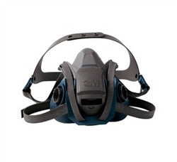 3M 6501QL Rugged Comfort Half Face Quick Latch Reusable Respirator, Small by 3M - JaniDepot