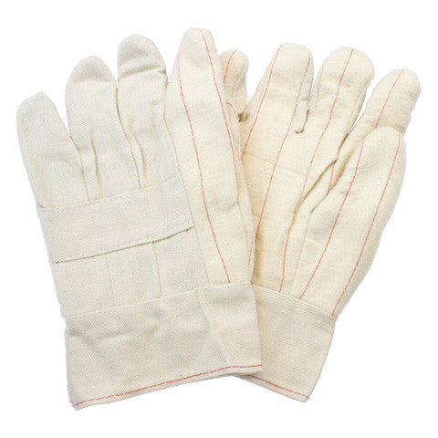 Cotton Hot Mill Nap Out Band Top Gloves by The Safety Zone - JaniDepot