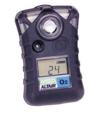 MSA 10092523 ALTAIR Single Gas Detector, Oxygen (O2), Low Alarm 19.50%, High Alarm 23.00% by MSA - JaniDepot