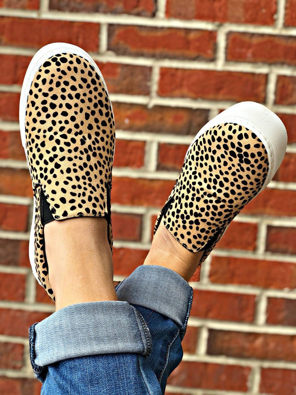 Royal Leopard Sneaker Slip On Shoe