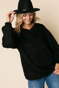 Black Soft Touch Sweater